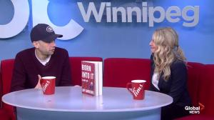 Jay Baruchel stops by Global News Morning Winnipeg